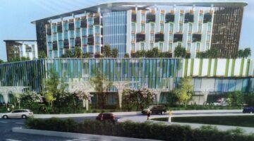 Quạt Lti hân hạnh cung cấp quạt cho Bệnh viện 6 000 tỷ đồng ở Quận 9 HCM