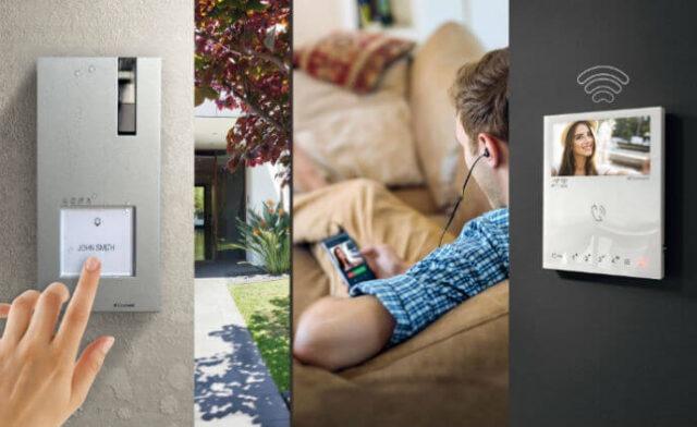 Comelit kết nối nhà thông minh với bộ kit màn hình Mini Handfree bằng Wi-Fi