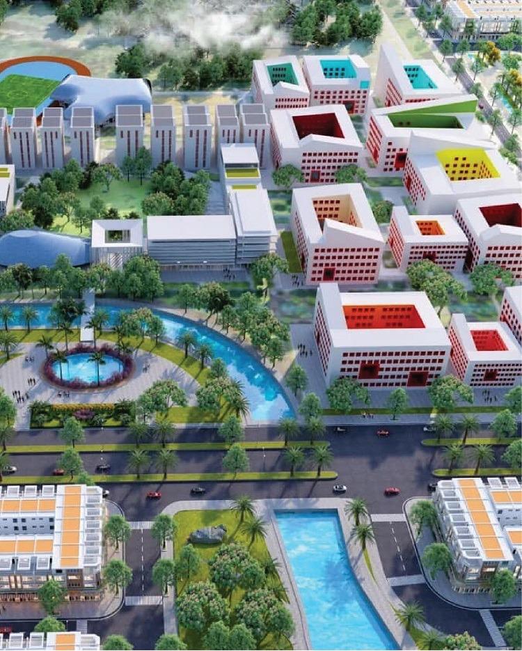 Dự án Trường ĐH Quốc Tế Việt Đức